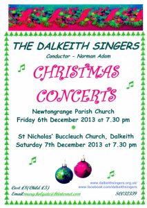 Concert Poster - December 2013