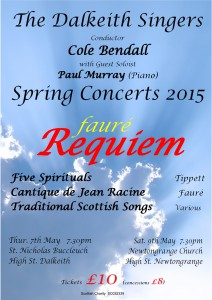Concert Poster - May 2015